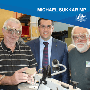 Michael Sukkar MP
